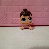 кукла лол мини сестричка оригинал!меняет цвет!редкая!