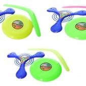 Игровой набор из трех предметов (бумеранг + 2 летающие тарелки)