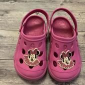 Кроксы Disney 28-29 размер стелька 18 см