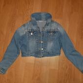 ❤ Джинсовая куртка на 6-8 лет ❤