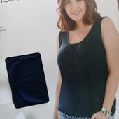 нежная футболка на резинке от Esmara р.XL (95% вискоза) цвет фото 3 !!