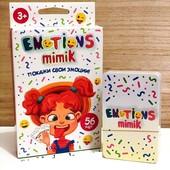 «Emotions Mimik» - это весёлая и озорная настольная игра. Гримасничай и выигрывай!