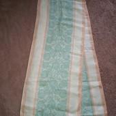 Новое льняное полотенце предположительно 1970-1980х годов. Очень большое 240*48 см