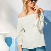 Женская котоновая блуза на каждый день и не только от Esmara. Размер евро 38