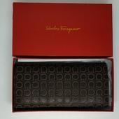 Salvatore Ferragamo, натуральная кожа, премиум качество, коричневый.