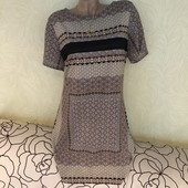 Шикарное платье оригинального дизайна на подкладке New Look, сток люкс!