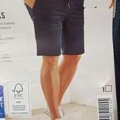 Стильные мужские джинсовые шорты бермуды Livergy. Размер евро 62