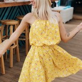 Шикарное лёгкое воздушное платье, 42-44 и 46-48 рр, 2 цвета! Ткань: софт.