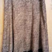 Классная легкая юбка миди на наш 54-56 р. ПОБ до 63 см. Вrandtex