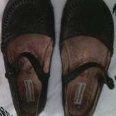 летние кожаные туфли NEXT