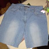 Джинсовые шорты в отличном состоянии р.40