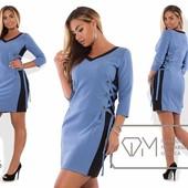 Женское платье с завязками