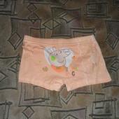 Качественные, мягкие трусики-шортики для девочки. на рост 110-120. новые