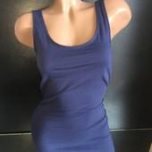 Новое с биркой Хлопковое платье маечкой (можно как ночная) 8 размер Много крутых лотов-собирайте!:)