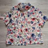 Фирменная новая красивая блуза р.16-18