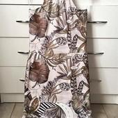 Качество!!! Летнее платье в тропический принт от бренда Boohoo