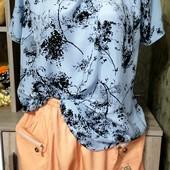Собираем лоты!! Комплект бриджы +блуза, размер M-L