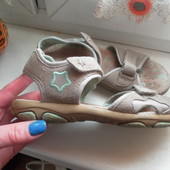 Кожаные сандали-босоножки super fit состояние очень хорошее