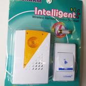 Беспроводной дверной звонок от розетки 220V Luckarm Intelligent A006 Orange (2789)