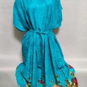 Платье с натуральной ткани не синтетика 54-58