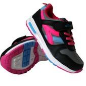 Кроссовки для девочек-Clibee-31,32,33,34,35,36р.Польша.Качество!!Все размеры