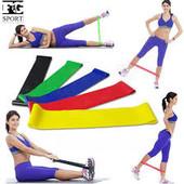 Набор из 3-х фитнес резинок для спорта, эспандеров, 3 вида нагрузки