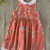 Платье на девочку 5-6 лет. В хорошем состоянии.