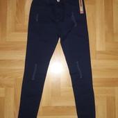❤️ Новые моднячие тёмно-синие джинсы Skinny на рост 146 см по бирке. Единственные!