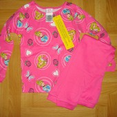 ❤️ Отличная новая пижамка с принцессами 6 лет по бирке, смотрите замеры!