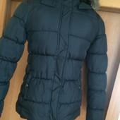 811. Куртка зима, внутри флис, размер 12 лет 152 см, C&A