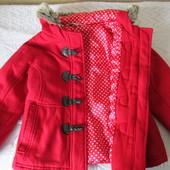 Пальто теплое George, 3-4 года