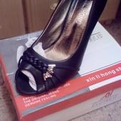 Распродажа!! Туфельки с открытым носочком!!!.Фото свои