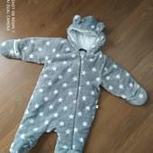 Антиаллергенный утепленный человечек для новорожденных