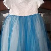 Сукня на 3-4роки, колготи в подарунок
