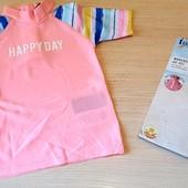Гарненький купальний реглан на дівчинку, бренд lupilu германія розм 98