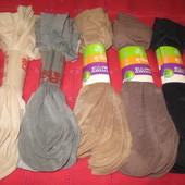 Носочки капроновые (5 цветов - наличие в описании). Лот - 1 упаковка (10 пар) - можно ассорти.