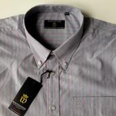 Мужская сорочка с коротким рукавом whitestone (италия) размер XXL
