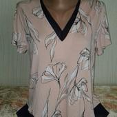 отличная нежная женская блузка р.12 Бренд - Marks&Spencer, на наш 52-54