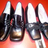 Кожаные туфли,1пара на выбор