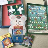 Много лотов! Настольная игра+ книжки для детей