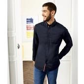 Шикарная хлопковая рубашка Livergy®, размер евро L, ворот 41/42 (замеры в описании)