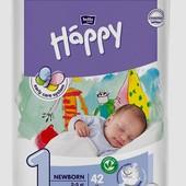 Подгузники Happy-1 (42шт.)