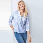стильная блузка-туника на каждый  день от Tchibo Германия размер 44 евро наш 50