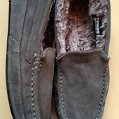 Шикарные туфли угги на меху,размер 7 или 40-40.5