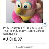 Хасбро, фирменная игрушка, Wuzzles