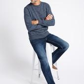 ☘ Однотонные базовые джинсы Marks & Spencer W42/L31