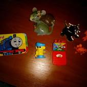 Киндеры, магнит, фигурки, игрушки. Лот все что на фото 7шт.