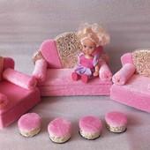 Кому розовенький?)) набор мебели для куколок