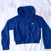 Брендовая! Куртка ветровка на девочку подростка 14/15лет! Состояние идеальное!