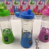 Кружка блендер Juice Cup аккумуляторный портативный с поилкой, usb зарядка,Блендер портативный